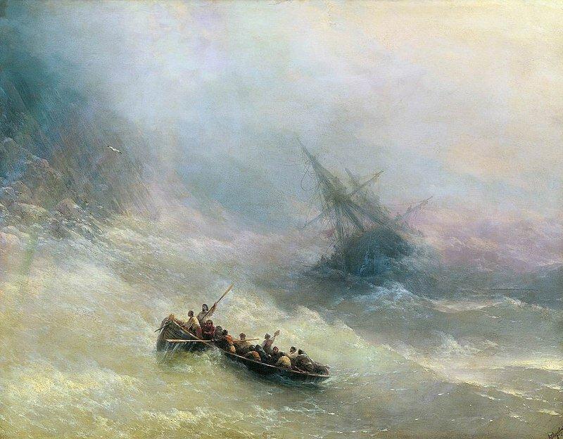И. Айвазовский. «Радуга». 1873 г.