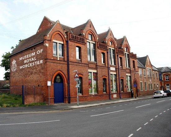 Музей завода Royal Worcester в Англии