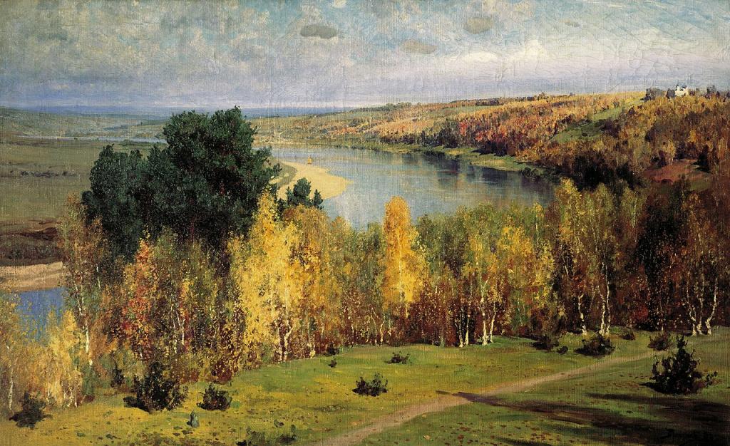 В. Поленов. «Золотая осень». 1893 г.