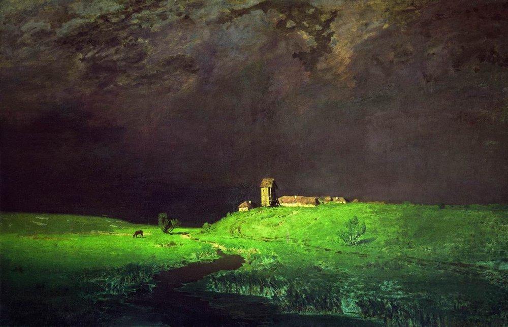 А. Куинджи. «После дождя». 1879 г.